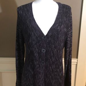NWT Tunic Length Cardigan by Style & Co. XL.